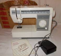 brother electric vx 1060 sewing machine vintage w instructions