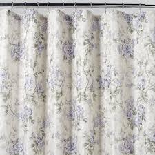 Purple Floral Curtains Purple Floral Shower Curtain Closet Curtains Bathroom