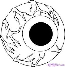 coloring pages of scary clowns how to draw a scary clown step by step creatures monsters free