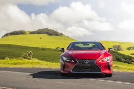 yellow lexus is lexus talks up performance in first lc 500 spot