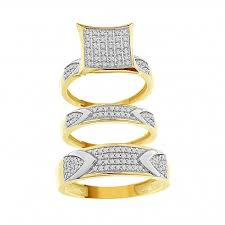 Financing A Wedding Ring by Buy Discount 3 Piece Bridal Bridal Ring Sets Online With Financing