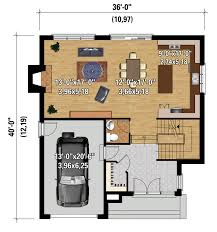 House Plan 45 8 62 4 Contemporary Style House Plan 3 Beds 2 00 Baths 2163 Sq Ft Plan