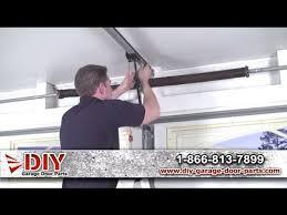 Garage Door Torsion Spring Winding Bars by Garage Door Springs How To Video Save Hundreds Of Dollars