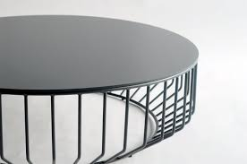 Metal Top Coffee Table Phase Design Reza Feiz Designer Wired Coffee Metal Top