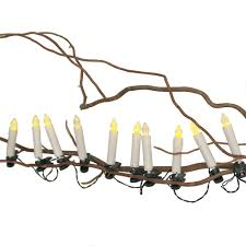 flickering candle led tree lights dotcomgiftshop