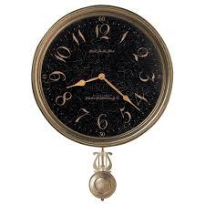 pendulum wall clock howard miller paris night 620 449 clockshops com