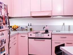modern pink kitchen sunken log rack light fixtures and dark