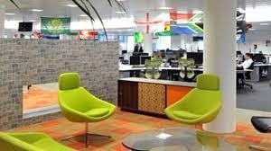 rackspace hosting company office interior design hd youtube