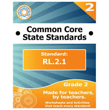 rl 2 1 second grade common core bundle worksheets activities