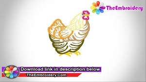 rooster embroidery collection download free embroidery designs
