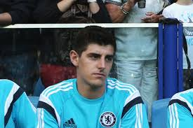 Galhsschelsea Thibaut Courtois Makes Chelsea Debut Wearing The Number 13 Shirt