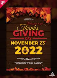 thanksgiving party flyer thanksgiving flyer free psd u2013 uxfree free for designer pinterest
