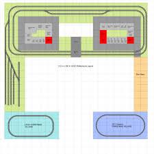 train floor plan james and karen u0027s lego layouts u2013 rappahannock model railroaders