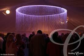 Marquee Chandeliers Venue Dressing At Wedding Marquee Wedding Creative