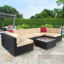 Sectional Patio Furniture Sets 72 Comfy Backyard Furniture Ideas