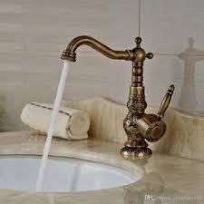 home decor cozy antique brass bathroom faucets and how to pick