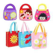 art and craft for kids non woven cloth cartoon animal flower handmade kids children diy