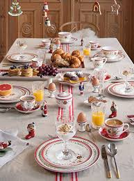 Villeroy And Boch Christmas Table Decoration by Christmas