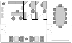 basic floor plans solution conceptdraw com basic floor plan small office floor plan