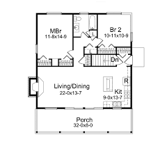 jacinto vacation cabin home plan 057d 0034 house plans and more