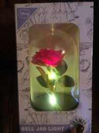 beauty and the beast light up rose primark disney beauty and the beast enchanted rose light up jar dome
