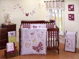 purple butterfly crib bedding sets home design ideas