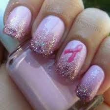 41 best pinkified nail art images on pinterest breast cancer