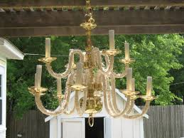 Wrought Iron Outdoor Chandelier Lighting Wonderful Candle Chandelier Non Electric For Modern
