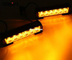 golf cart led strobe lights 12 led 36w police strobe light vehicle work light bar car warning