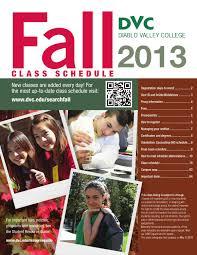 dvc fall 2013 class schedule by diablo valley college issuu