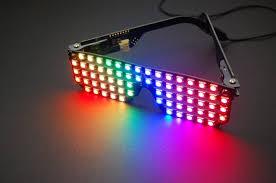 rgb shades programmable led glasses by macetech llc kickstarter