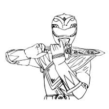 mighty morphin power rangers printable coloring pages coloring