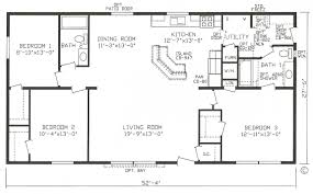 3 Bedroom 2 Bath 1 Story House Plans by Simple 3 Bedroom House Floor Plans Inspired Three Plan One Story