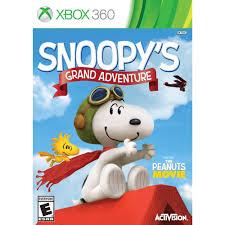 Peanuts Shower Curtain The Peanuts Movie Snoopy U0027s Grand Adventure Xbox 360 Walmart Com