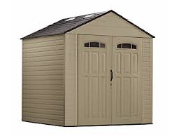 Rubbermaid Storage Shed Shelves by Roughneck X Large Storage Shed 7ft X 7ft Discontinued Rubbermaid