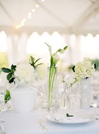 white flower centerpieces napa wedding table centerpiece white flowers 1 once wed