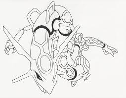 pokemon rayquaza coloring pages free printable coloring pages