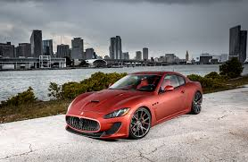gran turismo maserati red customized maserati granturismo exclusive motoring miami fl