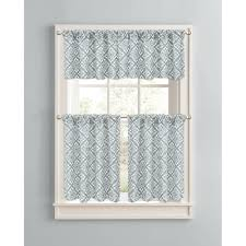 Damask Kitchen Curtains Curtains Fabulous Impressive Blue Lace Curtains Walmart And Blue
