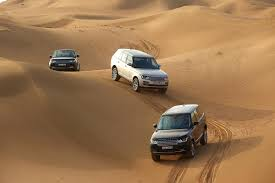land rover desert range rover celebrates 45 years of luxury design and innovation