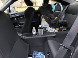 subaru seat belt can an infant car seat fit in a subaru brz the baby effect