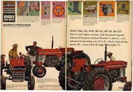 1965 massey ferguson tractor mf 135 mf 150 mf 165 vintage magazine