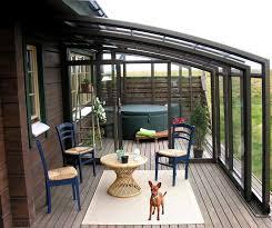 balkon wetterschutz windschutz für terrasse und balkon wählen 20 ideen und tipps
