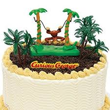 curious george cake topper curious george cake decoration kit kitchen dining