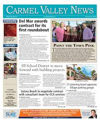 carmel valley news 11 24 16 by mainstreet media issuu
