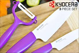 Ceramic Kitchen Knives Scoopon Kyocera 3 Piece Advanced Ceramic Knife Set Delivered