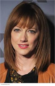 fancy chin length hair photo gallery of medium length bob hairstyles with bangs viewing