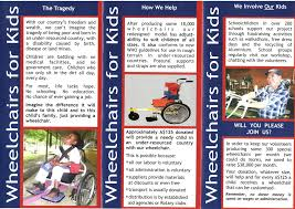 how to make a brochure for kids designing or not a non profit