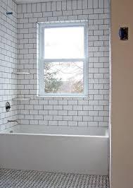 Subway Tiles Bathroom Delightful Ideas Subway Tile Tub Surround Homey 29 White Ideas And
