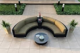 Top Curved Outdoor Furniture ArchitectureNice - Modern outdoor sofa sets 2